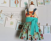 Midsummer Night's Knot Dress - ollieandmae