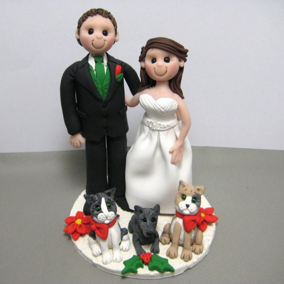 custom made wedding cake toppers deposit for custom made polymer clay wedding cake topper 3246