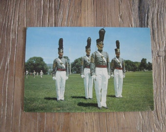 Giant Postcard West Point Honor Guard Cadets