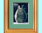 Penguin ACEO ATC Perfect for framing