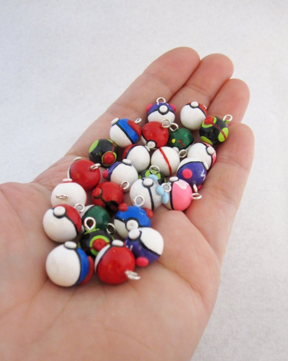 Choose Your Own Pokemon Pokeball Charm
