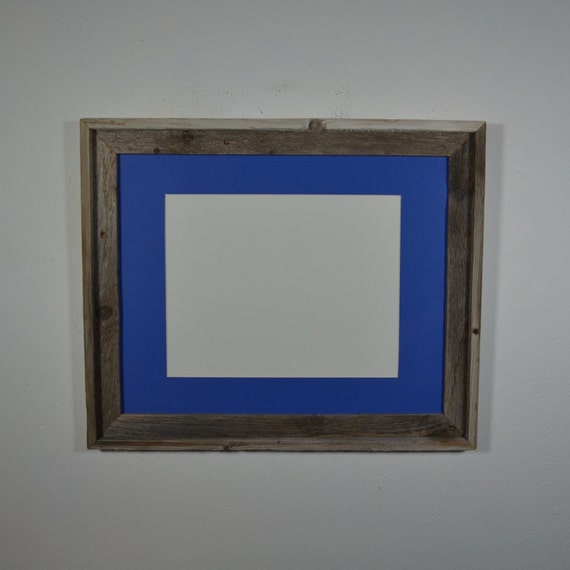 16x20 Wood Frame With Mat For 11x14 Or 11x17 Or 12x18 Or 12x16