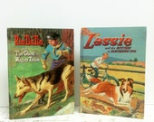FIVE DOLLARS EACH, Donna Parker, Vintage Books, Wedding Favors, Bridal Shower, Ephemera, Lassie, RinTinTin, Instant Book Collection