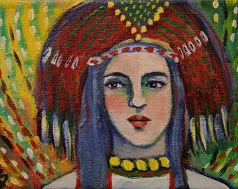 Nadhima - Original Painting
