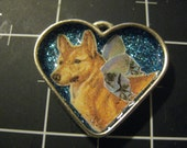 100% Charity Donation Item: Sparklefairy Pup Pendant,  All proceeds go to the current selected animal charity