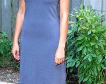 Aspen Tunic ~ Cowl Neck Dress ~ Bamboo & Organic Cotton ~ Made to Order