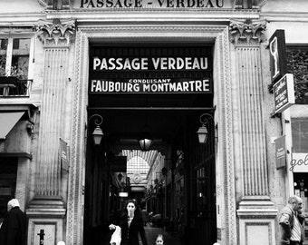 Passage Verdeau - 6x9 matted print