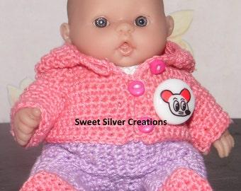 Crochet Pattern - 5.5 inch Berenguer/Lots to love/Itsy Bitsy Baby Lynn