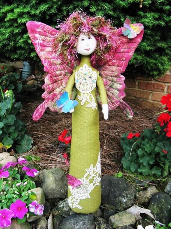 Cloth Doll E-Pattern -18in Standing Fantasy Doll Epattern