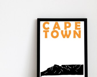 Cape Town Print (8x10) Cape Town South Africa Art Print