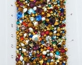 100 Swarovski Crystal chaton Mix - 1st quality machine cut - art 1100 1012 - huge assortment of loose rhinestones for Crystal Clay Epoxy