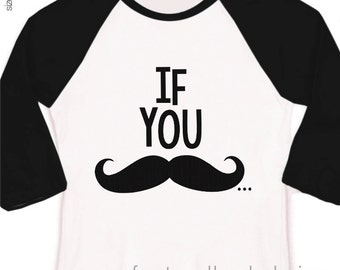 Mustache big brother shirt if you must ask big brother to be pregnancy announcement raglan shirt