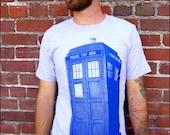TARDIS Mens Tshirt