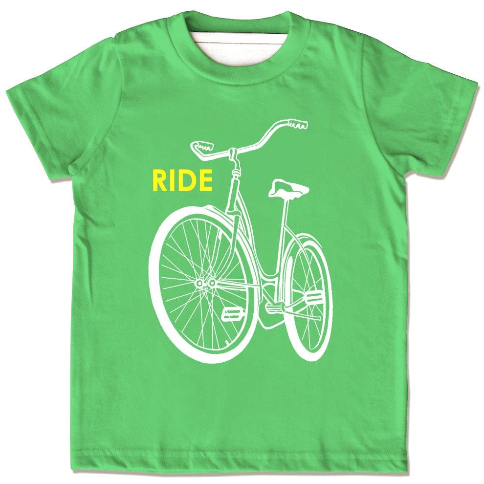 Kids bike shirt children 39 s bike t shirt ride a bike tee for T shirts for kids