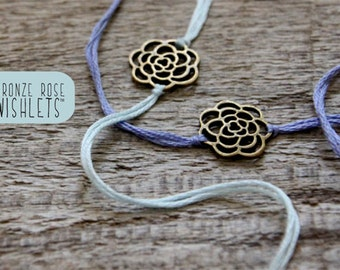 valentine gift for her personalized friendship bracelets wish bracelets custom wishlet best friend gift bridesmaid jewelry stacking bracelet