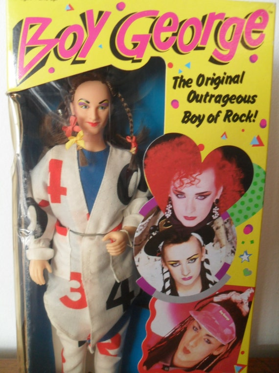 Boys Toys From The 80s : Vintage boy george doll s toy celebrity pop rock roll