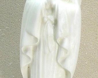 Ceramic Madonna  white glaze