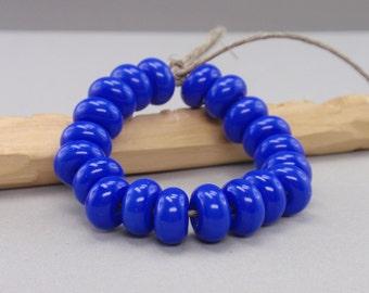 25 % off - 20 Spacer - Handmade Lampwork Beads - S 52