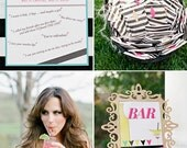 Little Black Dress, Printable Party Package