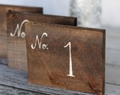 Rustic Table Numbers Barn Wood Wedding Decor Country Barn Shabby Chic (Item Number MHD20046)