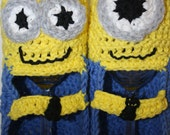 Minion Slippers-MTO-womens sizes