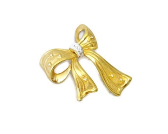 Brooch Vintage Pin Bow Bow Brooch Signed NLH Landau Jewelry