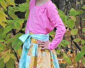 Girl's Skirt, Girls Patchwork Skirt, Quilted Skirt, Girl Skirts, Girl Clothing, Child, Toddler skirt, Size 2, 3, 4, 5, 6, 7, 8, 9/10