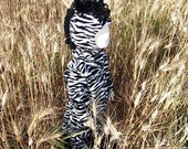 HALLOWEEN SALE!!!  Toddler Zebra Costume Size 1t - 2t   In stock and ready to ship!!