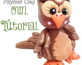 Owl Polymer Clay Tutorial - Also for Fondant, Sugar Paste, & Other Sculpting Mediums