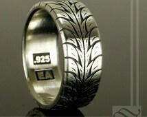 Popular Items For Tire Tread Ring On Etsy