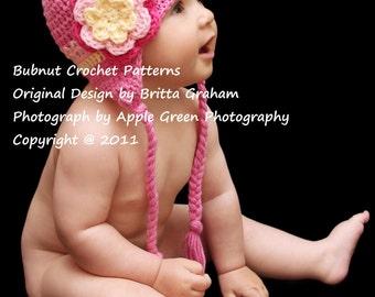 Bubnut Crochet Patterns : Crochet Hat Pattern Easy Peasy Newsboy Crochet by bubnutPatterns