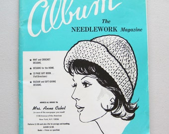 1978 Album The Needlework Magazine Vintage Mail Order Catalogue and Knitting Crochet Pattern Booklet
