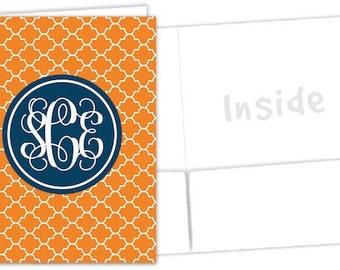 Personalized Pocket Folder - Monogrammed Gifts - Clover
