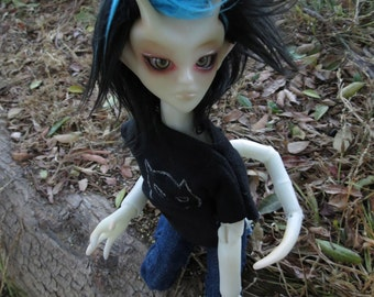 Teenygoyle Arin Artist Ball Jointed Doll 30cm NO WINGS