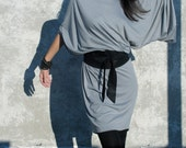 Long Dress / Oversize Midi Tunic / Maxi Dress / Jersey Dress / Kimono Dress / Caftan Dress / marcellamoda - MD011