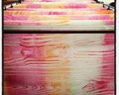 Faux Bois Paste Paper