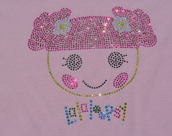 Closeout: Lalaloopsy Flower Pot Rhinestone Shirt- Tank Top, Short Sleeve, Long Sleeve, Onesie
