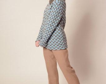 Vintage 1960s Wool Ski Pants - Mocha Taupe - Winter Fashions