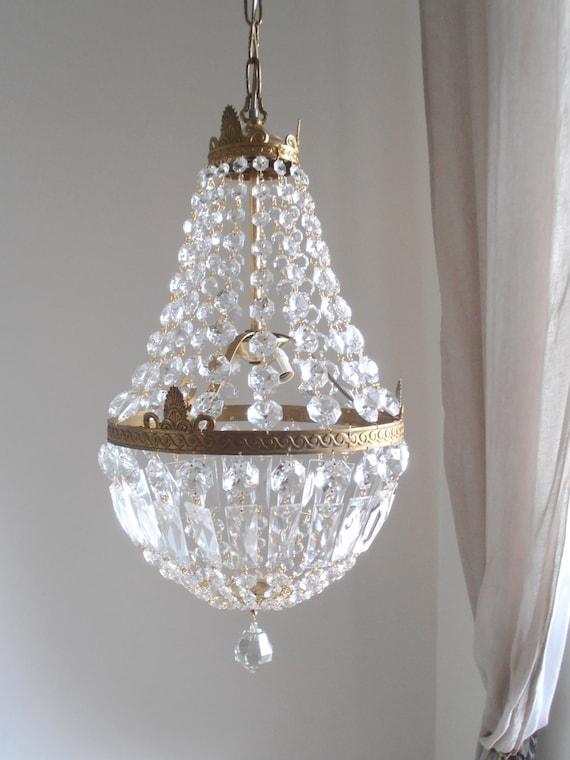 in saldo Lampadario stile impero tono oro vintage di