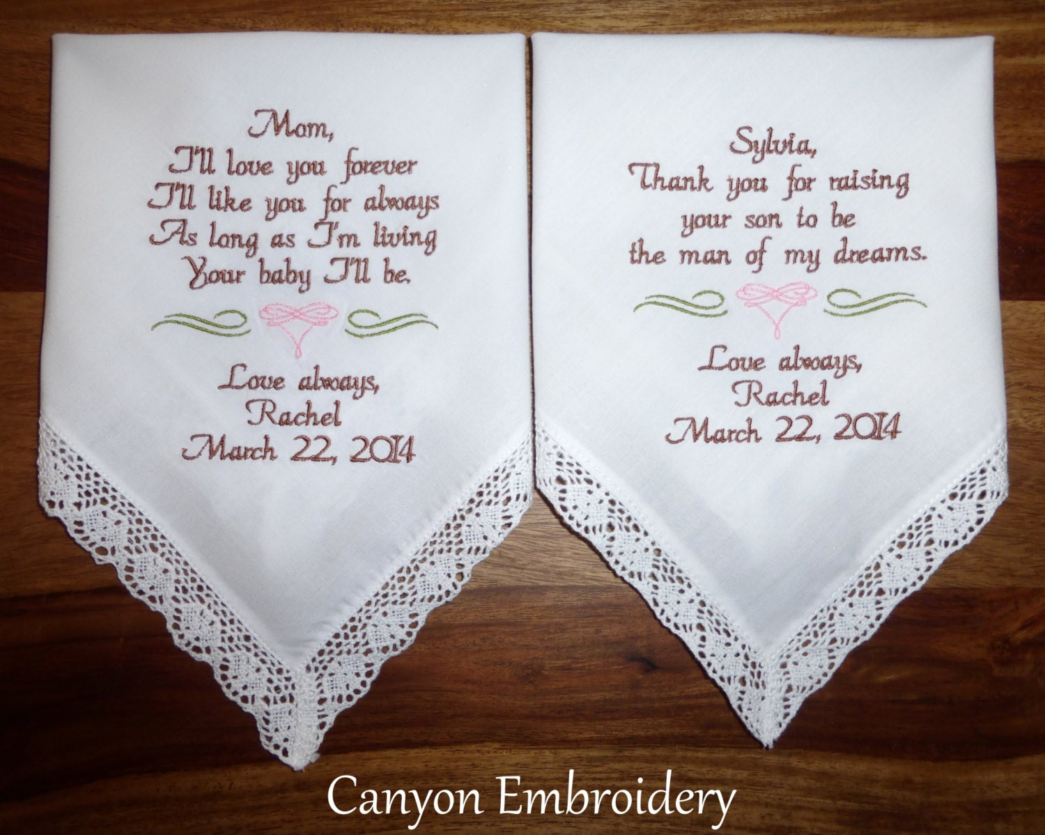 Wedding Gifts For Future Mother In Law : Wedding Present for Mom Future Mother in-law Embroidered