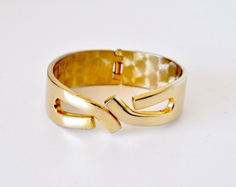 Vintage Abstract Clamper Bracelet
