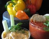 SASSY GARLIC mild Dip Mix Seasoning versatile make Delicious party salsas cheese ball use as BBQ grill rub 5 free recipes No msg sugar vegan