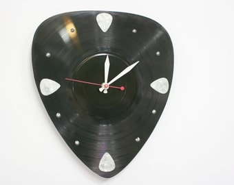 Guitar Pick Clock - Pick your own Pick color