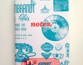 Letterpress Vintage Print Block Pocket Notebook