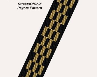 StreetsOfGold Peyote Bracelet Pattern