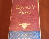 Zane Grey Tappan's Burro and Other Stories Copyright 1923