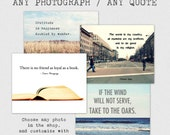 Custom Quote Print, Personalized Gift, art photography