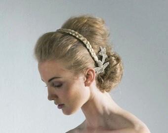 Bridal Hair Pin - Rhinestone Crystal Comb - made to order