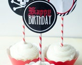 Pirate Party PRINTABLE Party Circles by Love The Day