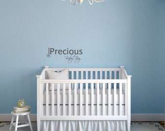 Baby Boy Wall Decal | Etsy